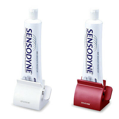 Practical Durable Tooth Paste Squeezer Dispenser Roll Holder Bathroom Accessory