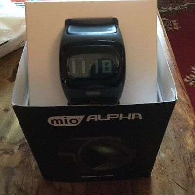 Mio Alpha Heart Rate Monitor - Black