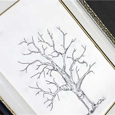 A3 Wedding Guest Book Fingerprint Family Tree Ink Pad Bridal Shower Name Books