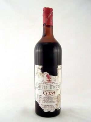 1969 ALL SAINTS Silver Medal Claret Damaged Label Isle of Wine