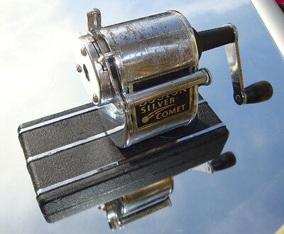 Boston Silver Comet Anspitzer,Bleistiftanspitzer vint. pencil sharpener