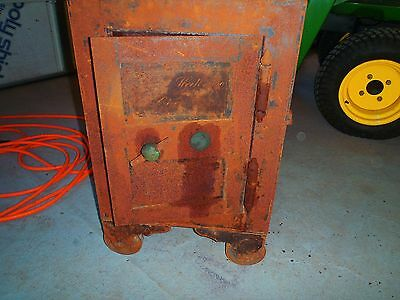 Antique Hall And Co Key Safe