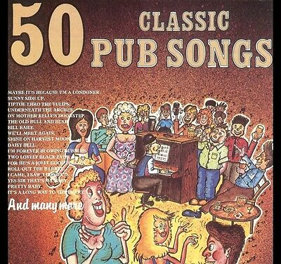50 CLASSIC PUB SONGS - Ideal for Dementia / Alzheimers Reminiscence Music