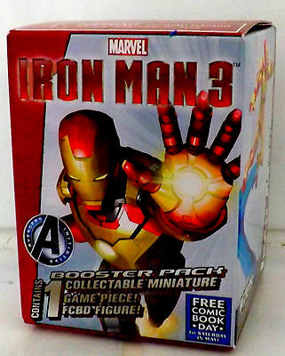 IRON MAN HEROCLIX Booster from Free Comic Book Day 2013 - NEW sealed