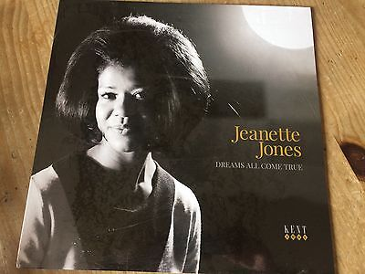 Jeanette Jones LP Northern Soul White Vinyl Mint FREE P&P