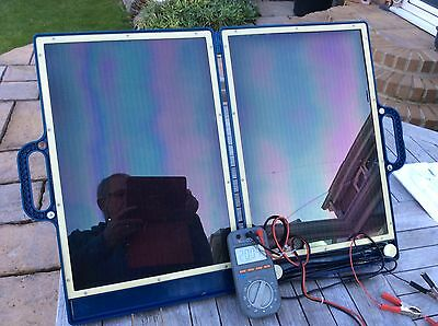 Topray Briefcase Amorphous Cell Solar Generator TPS-936 13 Watts @ 17 Volts 13W