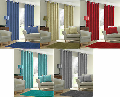 Marble Curtains Thermal Backed Light Reducing Ring Top Eyelet Curtain Ready Made