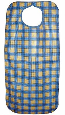 Heavy Duty Re-Usable Adult Apron Yellow check
