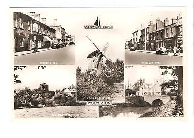Postcard Of Greetings From Wolverton