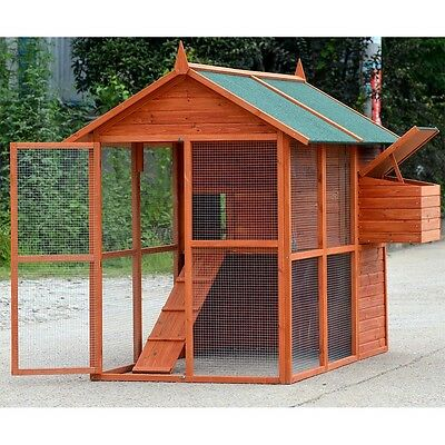 X-LARGE Chicken Coop , Rabbit Guinea Pig Hutch Ferret  Chook House