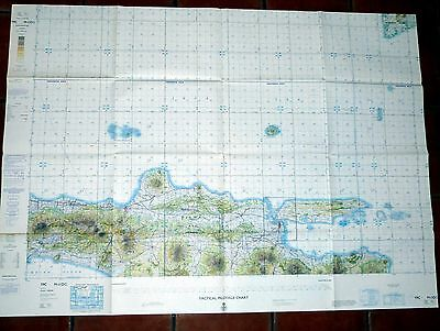 Tactical Pilotage Chart M-11DG Indonesia 1971 Pub' by UK Ministry of Defence