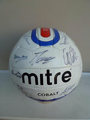 Hereford United Signed Mitre Football - 2010-11 Season - Signed By 20