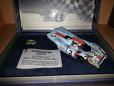 Scalextric Fly Porsche 917 chequered flag limited edition