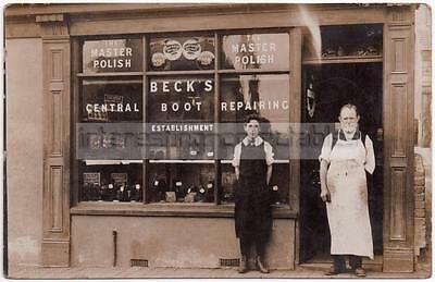 Beck's SHOPFRONT - Central Boot Repairing - Cobbler - Unlocated/Mystery/Unknown