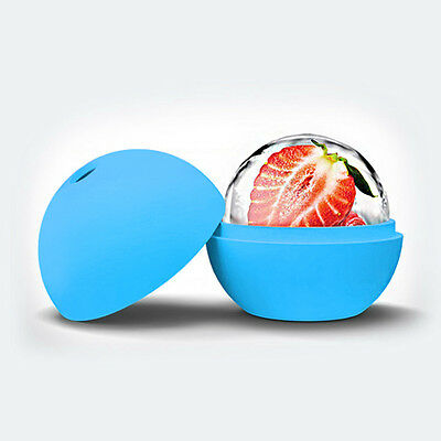 2.5 inch Silicone Ice Ball Maker Mold Sphere Large Tray Whiskey DIY Mould UK