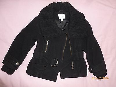 Next Girls Padded Coat /jacket Size 7-8 Y Good Condition