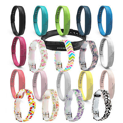 Replacement Band Fitbit Flex 2 Strap Clasp Wristband Bracelet Tracker *UK*