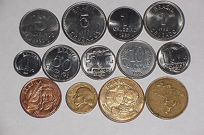 Brazil  13 all different coins # 35