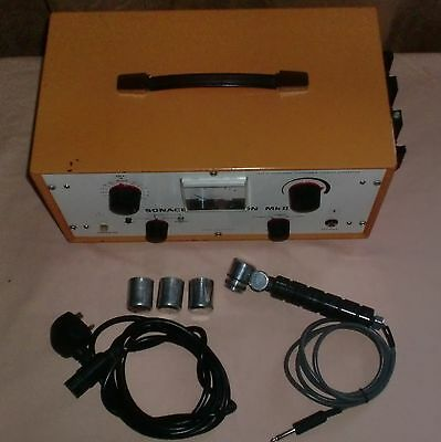 Stanley Cox Ltd - Sonacel Multiphon Mk 11 - Triple Therapy Ultrasonic Therapy