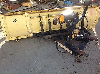 """Meyer 102"""" Snow Plow -Hydraulic Angle and Lift- E-60 Pump"""