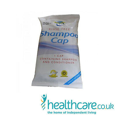 Aquamed No Rinse Shampoo & Conditioning Cap - Ideal For Bed Bound Patients