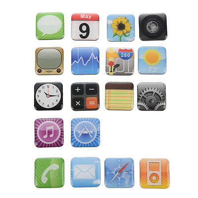 New App Fridge Magnet 18 for iPhone Apps Magnets Smart Phone Icon SP