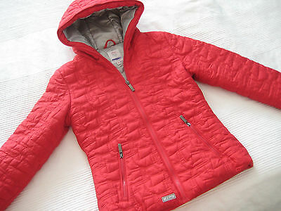 S.OLIVER Herbst Winter JACKE rot Gr. M 146 152 Top Zustand
