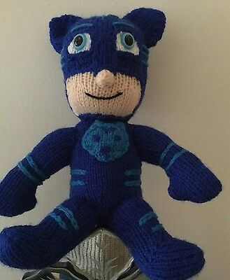 Hand Knitted Soft Toy....Catboy.....from PJ Masks