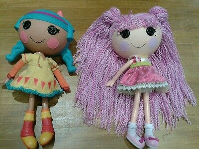 2 large lalaloopsy dolls..great condition