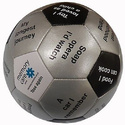 THROW & TELL ACTIVITY BALL - Designed for Engagement in Dementia Environments