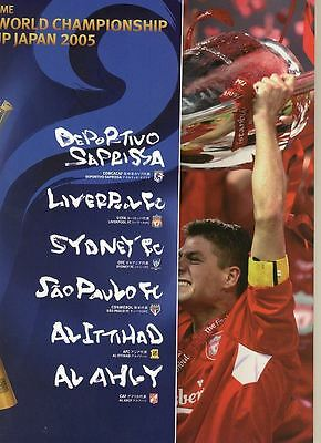 FIFA CLUB WORLD CUP 2005: Official Bro + Liverpool ed