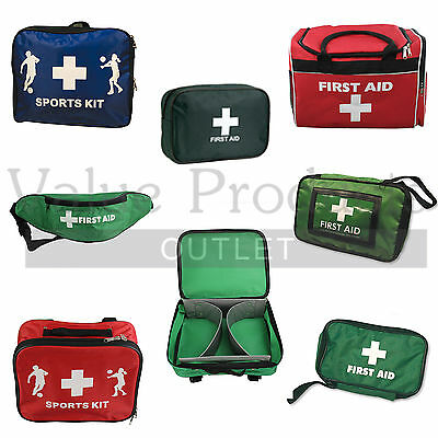 Empty Refillable Quality First Aid Kit Bags & Pouches - Various Types & Sizes