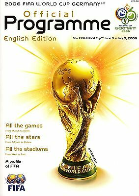 WORLD CUP 2006: Tournament brochure - English edition