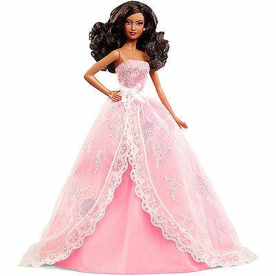 2015 Birthday Wishes Barbie Doll, African American