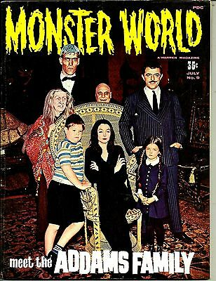 Famous Monsters - Monster World #9 The Addams Family Ex Condition