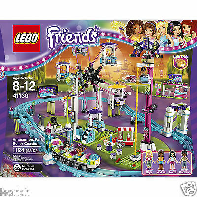 "LEGO 41130 Friends Amusement Park Roller Coaster set NEW  ""FAST & FREE"""