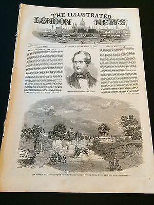 "Original ""The Illustrated London News"" Saturday 12th September 1857 (24 Pages)"