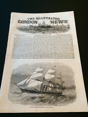 """Original """"The Illustrated London News"""" Saturday 24th October 1857 (24 Pages)"""