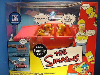 The Simpsons - Talking Family Car - Retired