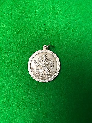 Silver St Christopher Metal Detecting Find