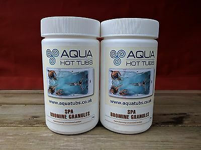 1kg BROMINE INFUSED GRANULES for Hot Tub Spa Swimming Pool Chemicals