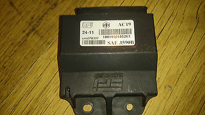 Piaggio Fly 125 2011 Cdi Unit Ignition Control Box Ecu Cm078307 Brain Cdi Unit