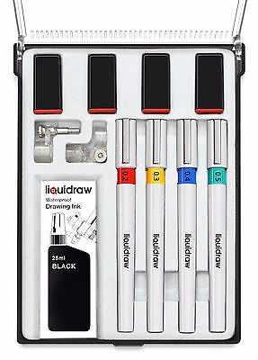 Isomars Technical Drawing Pen Set of 4 College Set