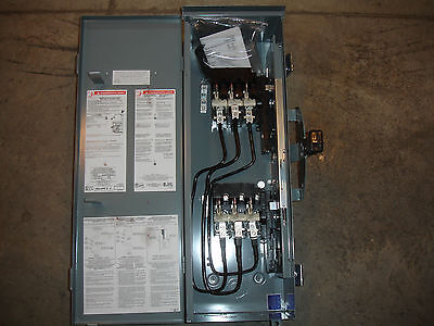 Square D Schneider DTU323NRB Double Throw Safety Disconnect Switch Panel NO BOX
