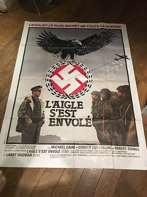 Original The Eagle Has Landed film Poster michael Caine