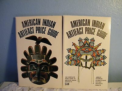 Lot of 2 American Indian Artifact Price Guides  1975-vol2  1976 vol 2  LOOK