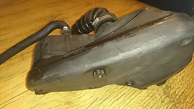 Piaggio Fly 125 2011 Air Box Filter Air Intake Pipe Inlet Air Pipe Rubber Housin