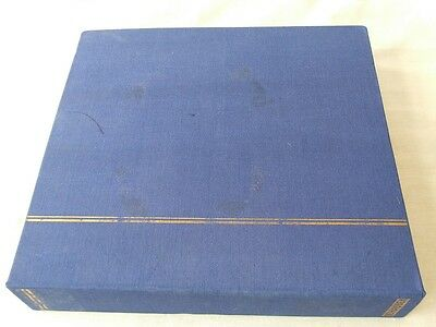 GREAT BRITAIN Qn VICTORIA TO Qn ELIZABETH USED COLLECTION-SCHAUBEK PRINTED ALBUM