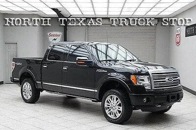 2012 Ford F-150  2012 Ford F150 Platinum 4x4 Navigation Sunroof Cooled Seats 1 TEXAS OWNER