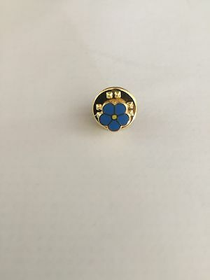 MASONIC FORGET ME NOT LAPEL PIN ( Buy From A Mason )
